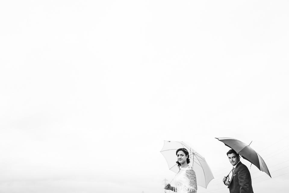 fotos boda lluvia