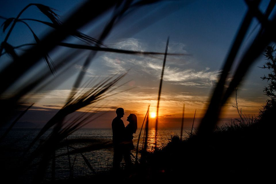 Angelica + Alberto | Preboda en la playa de Barrika