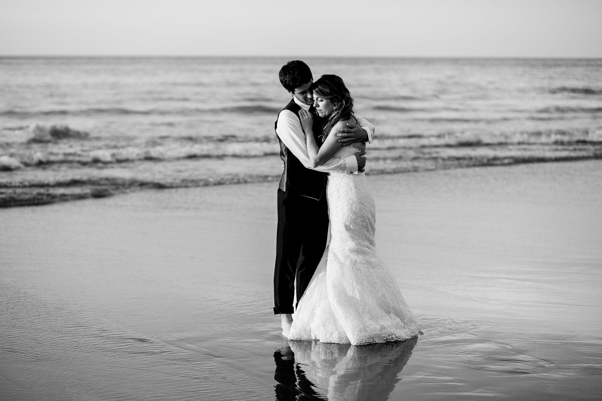 post boda en la playa de bakio