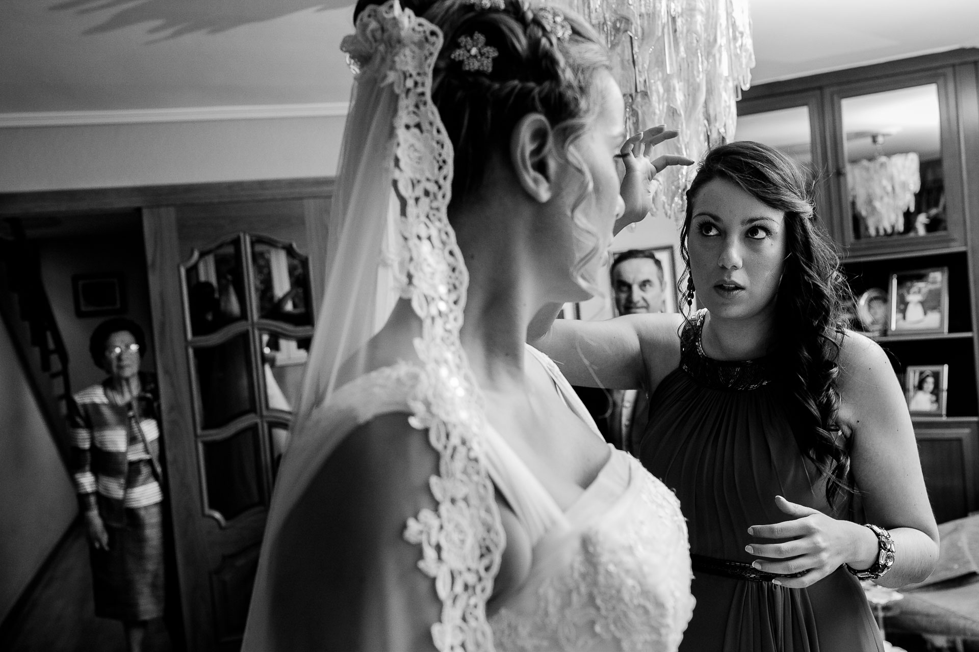 preparativos casa novia boda