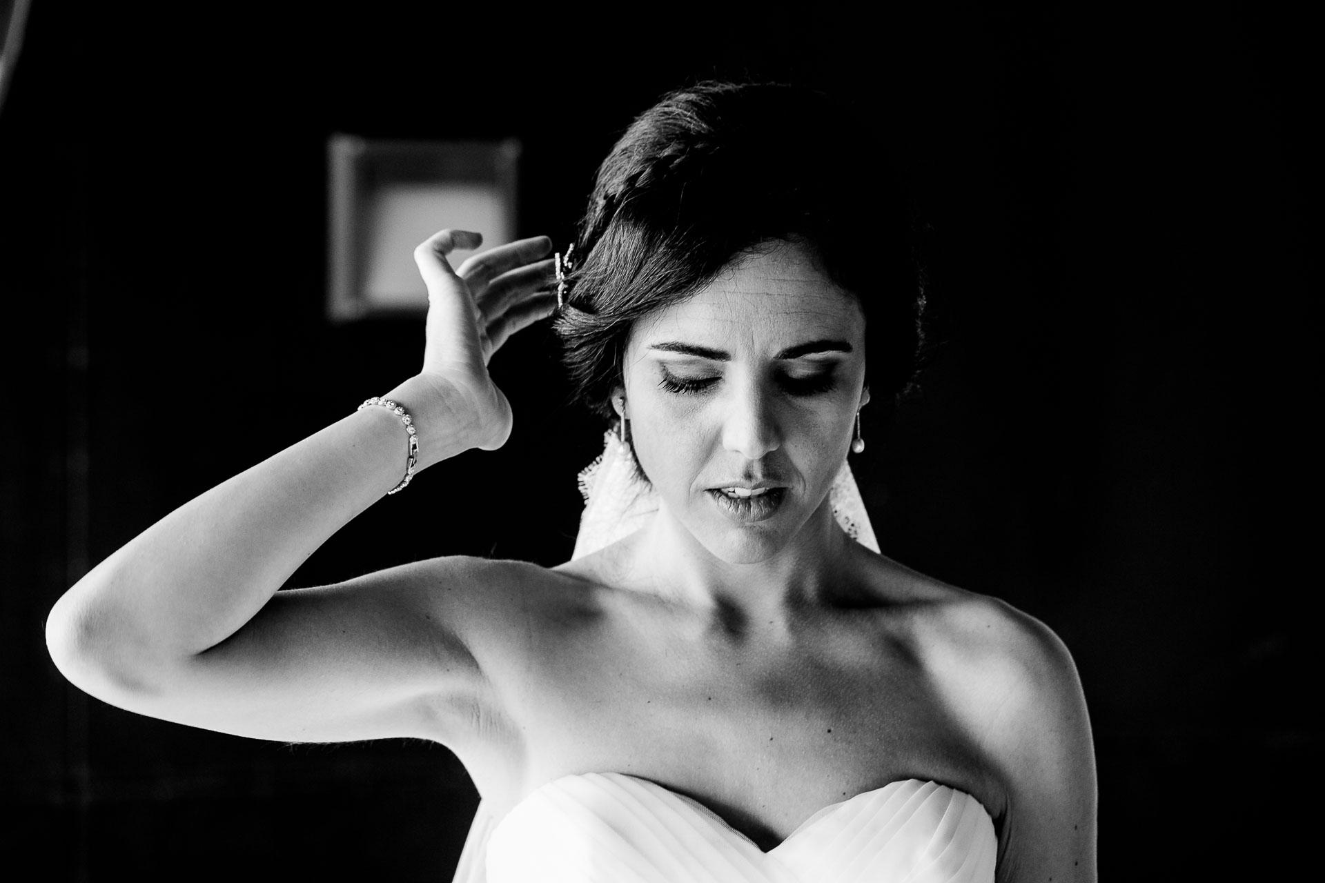 peinado novia boda