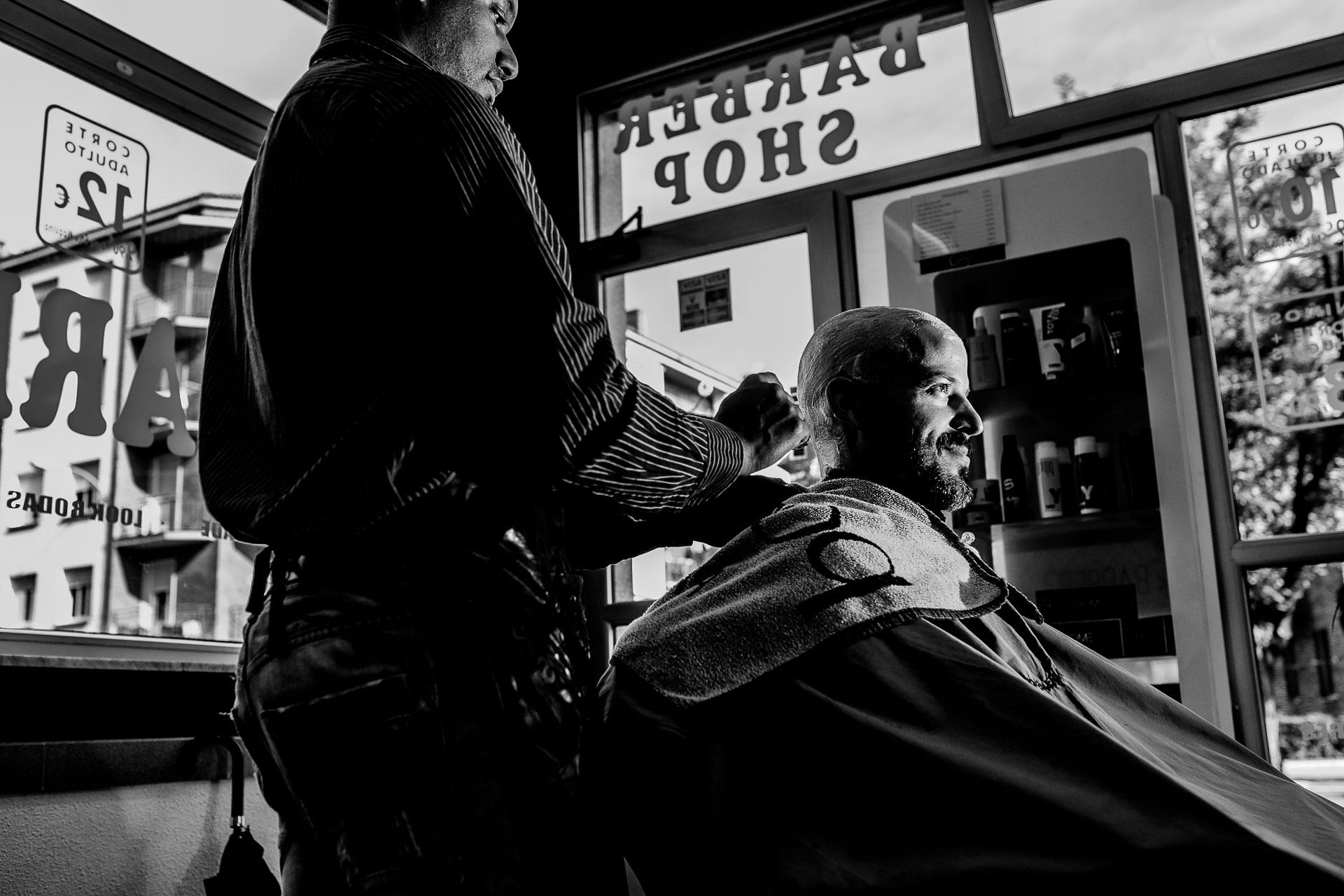 boda novio barberia vitoria