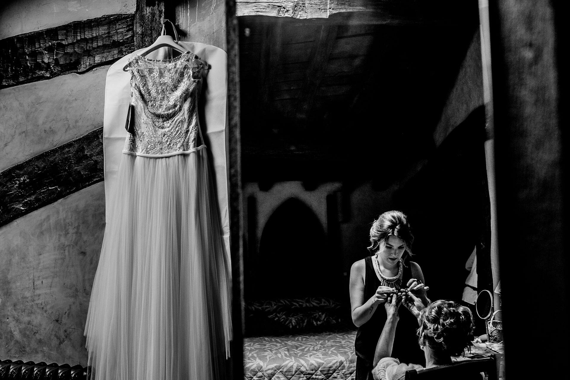 preparativos novia palacio elorriaga