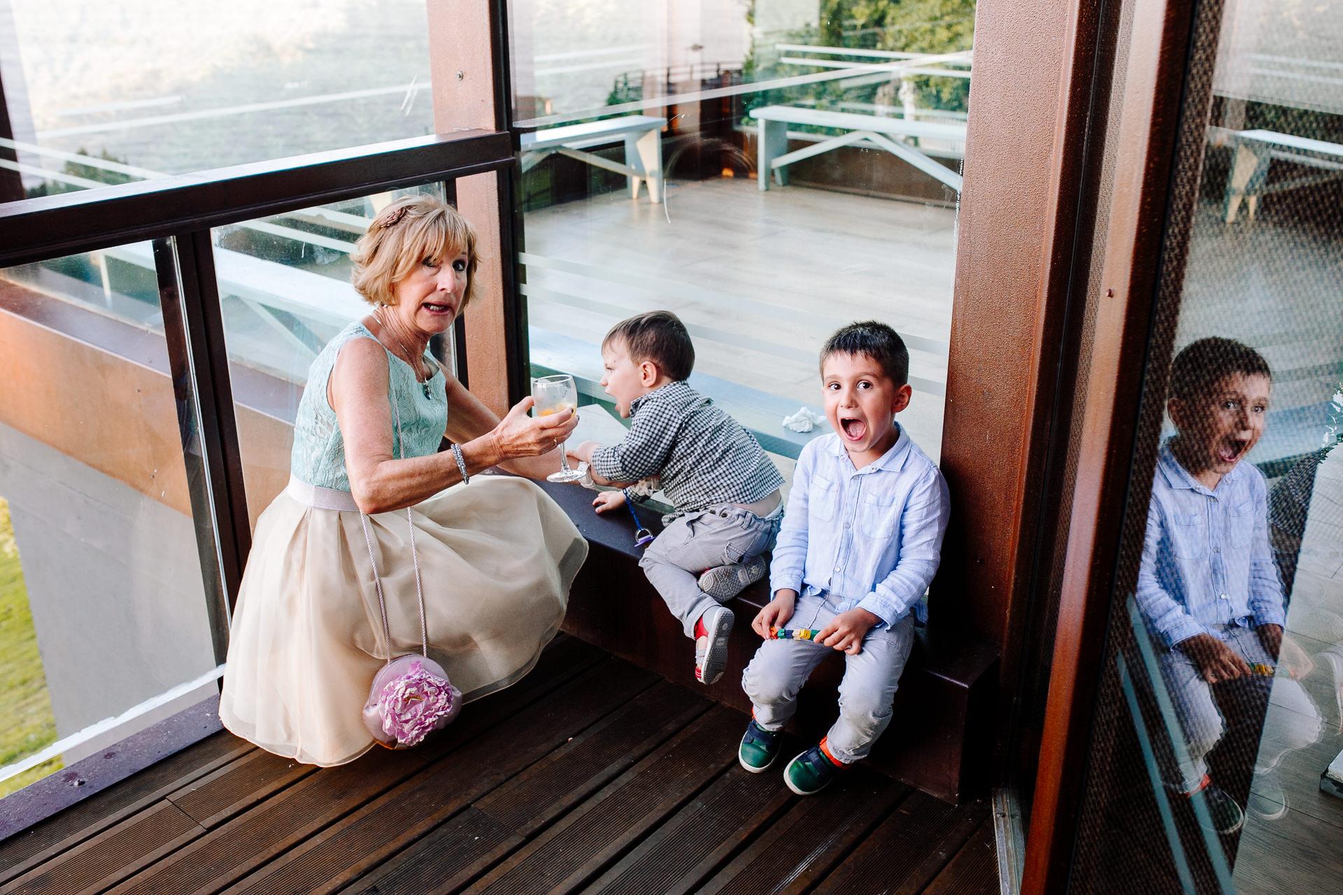 boda en el restaurante eneperi