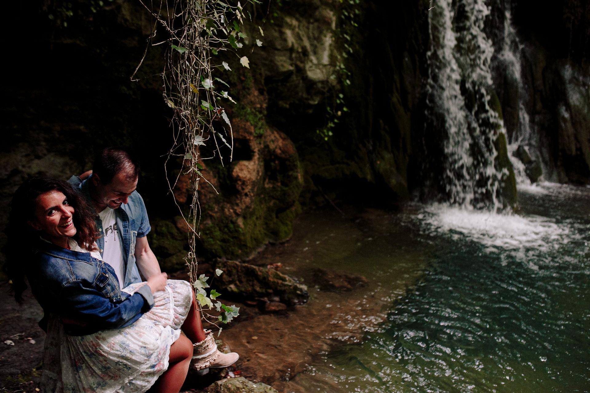 preboda cascada bosque alava 191302