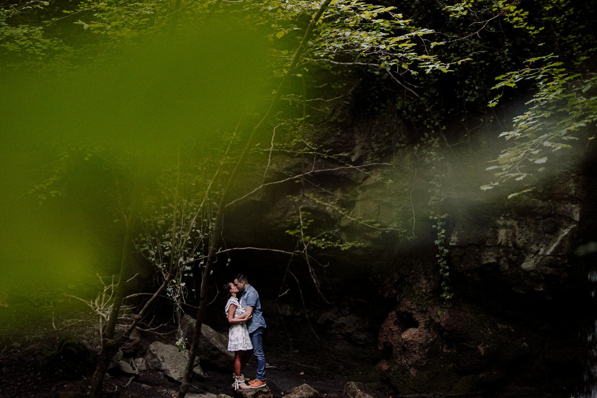 preboda en la cascada de altube
