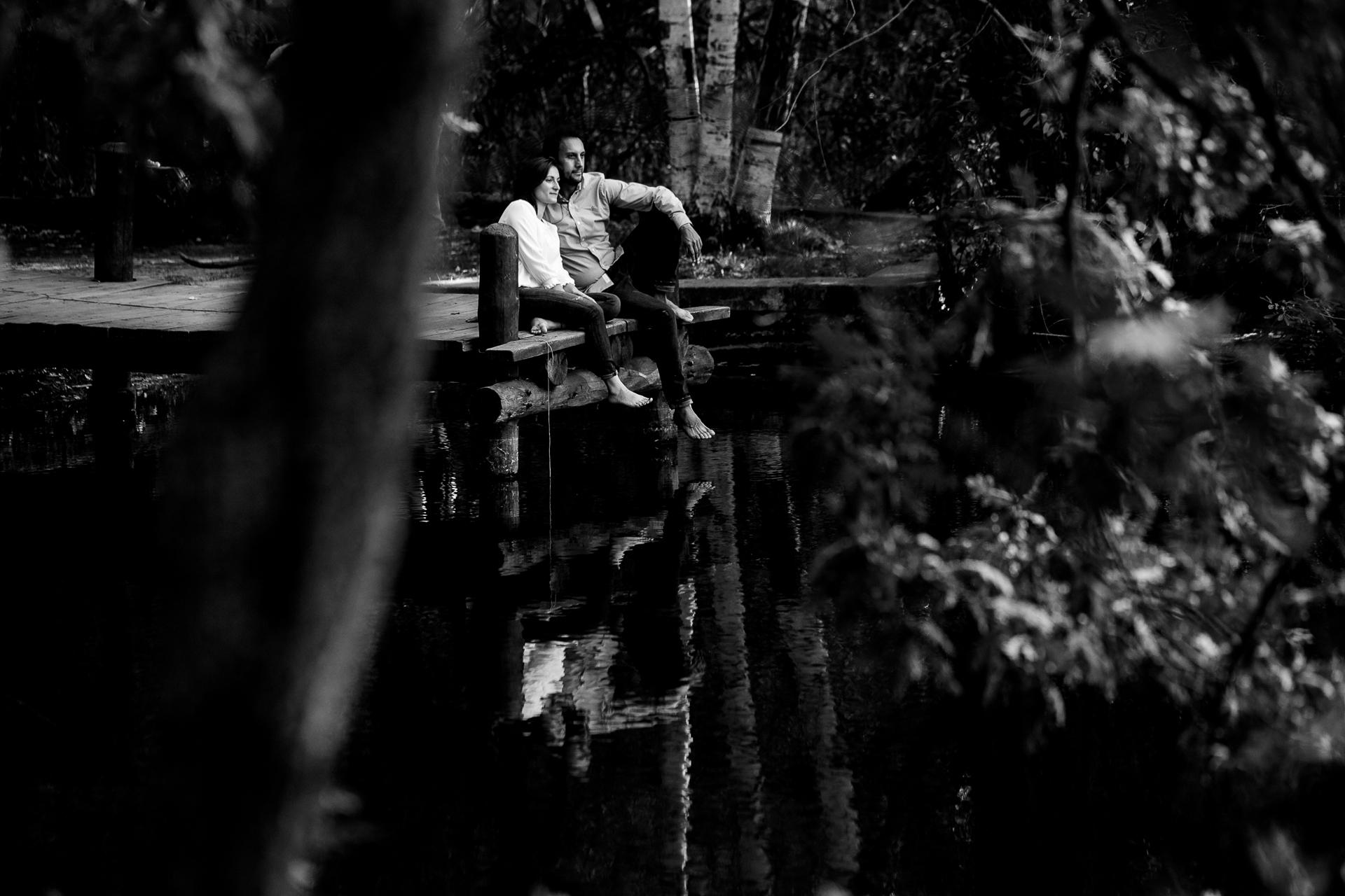 preboda en el bosque finlandes de rascafria