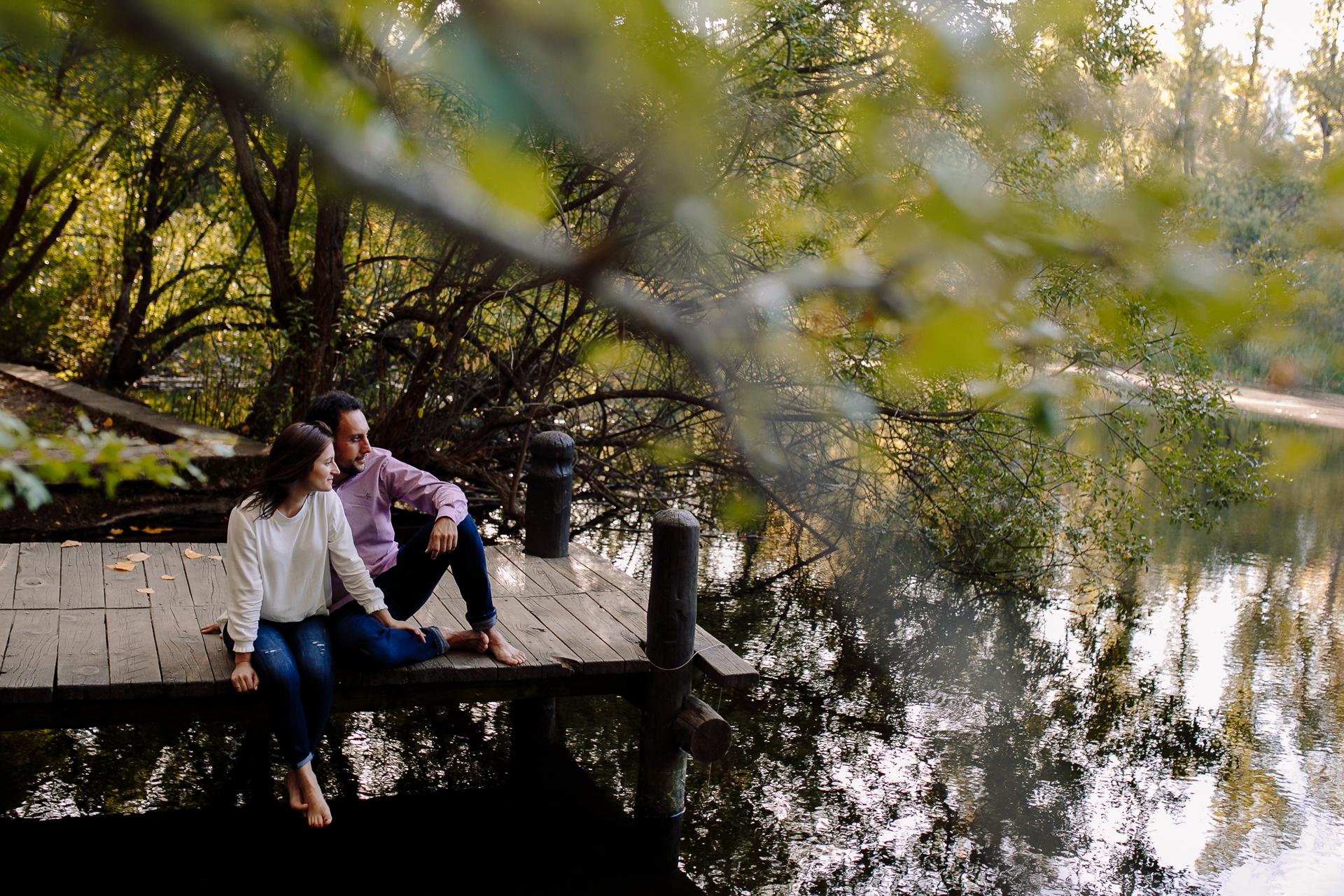 preboda bosque finlandes rascafria