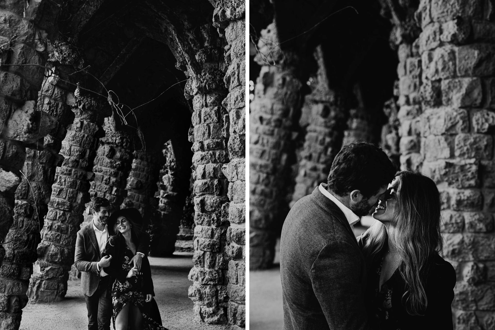 sesion de fotos en pareja en barcelona