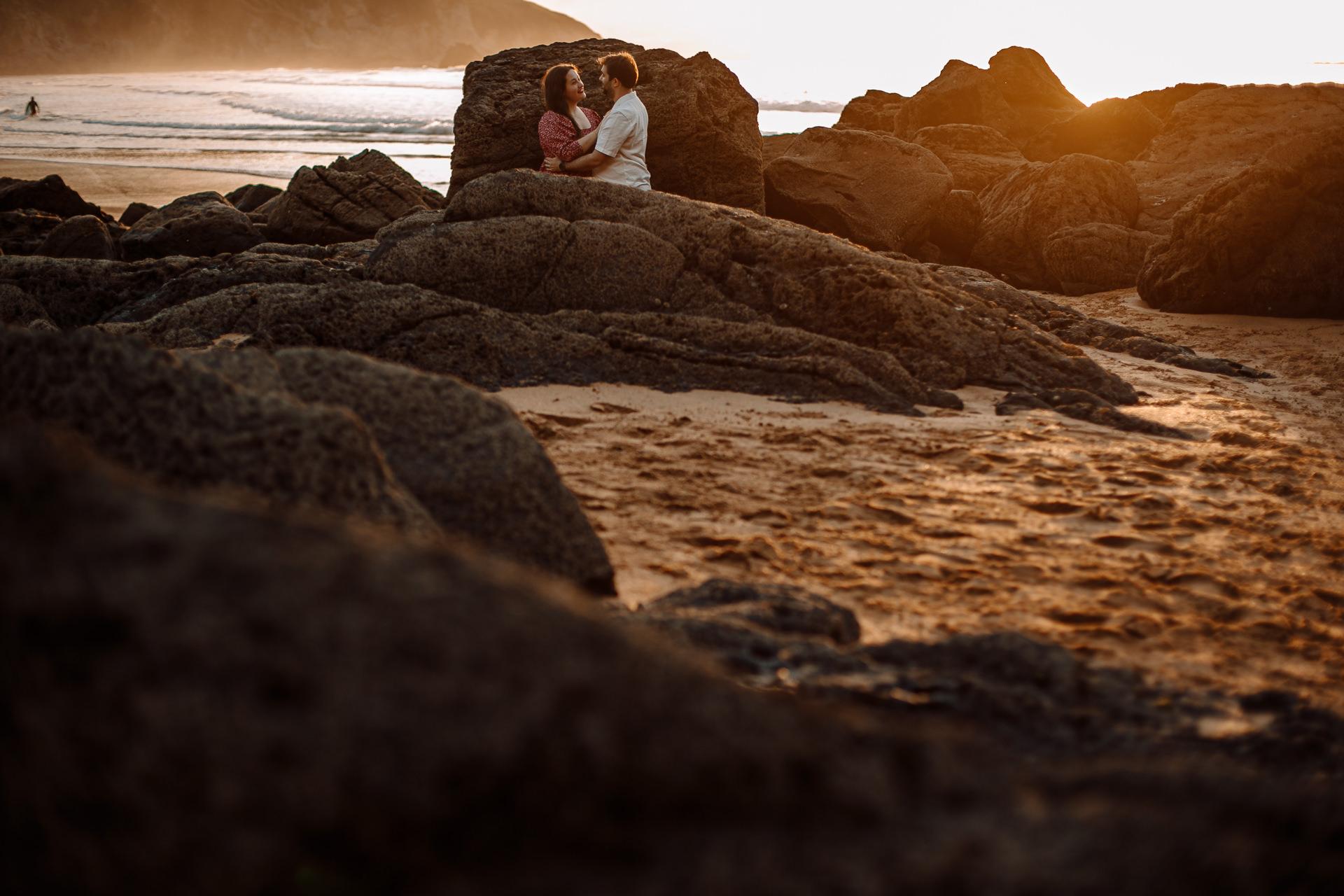 preboda en la playa de laga