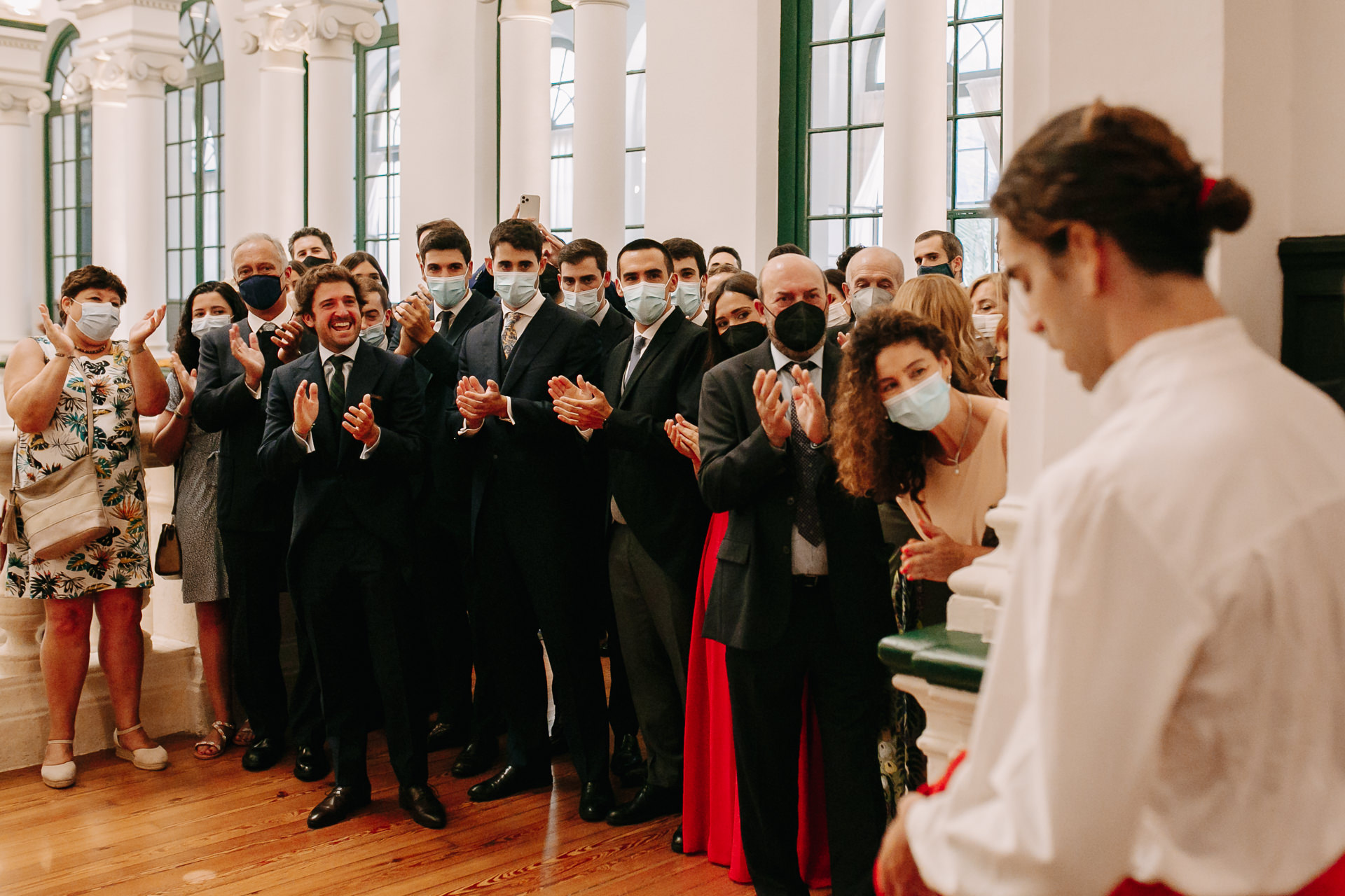 boda en la real sociedad de golf de neguri
